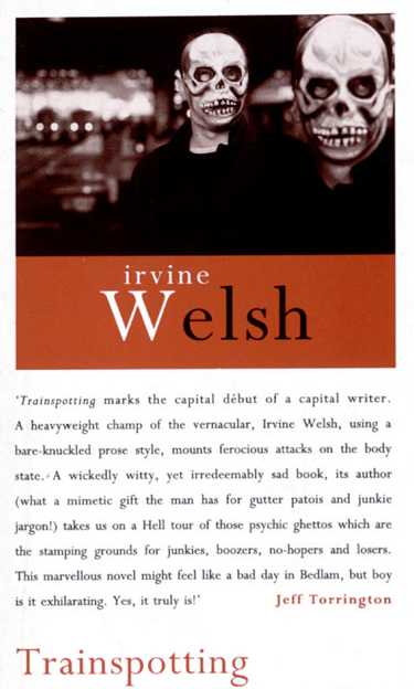 First edition of   Trainspotting   (via    National Library of Scotland   )