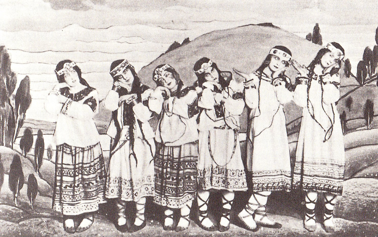 Dancers from Stravinsky's   The Rite of Spring  , the premier of which erupted in a brawl     (via    Wikipedia   )