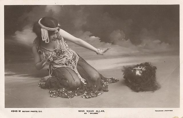 An early adaptation of   Salome   (via      Wikipedi  a   )