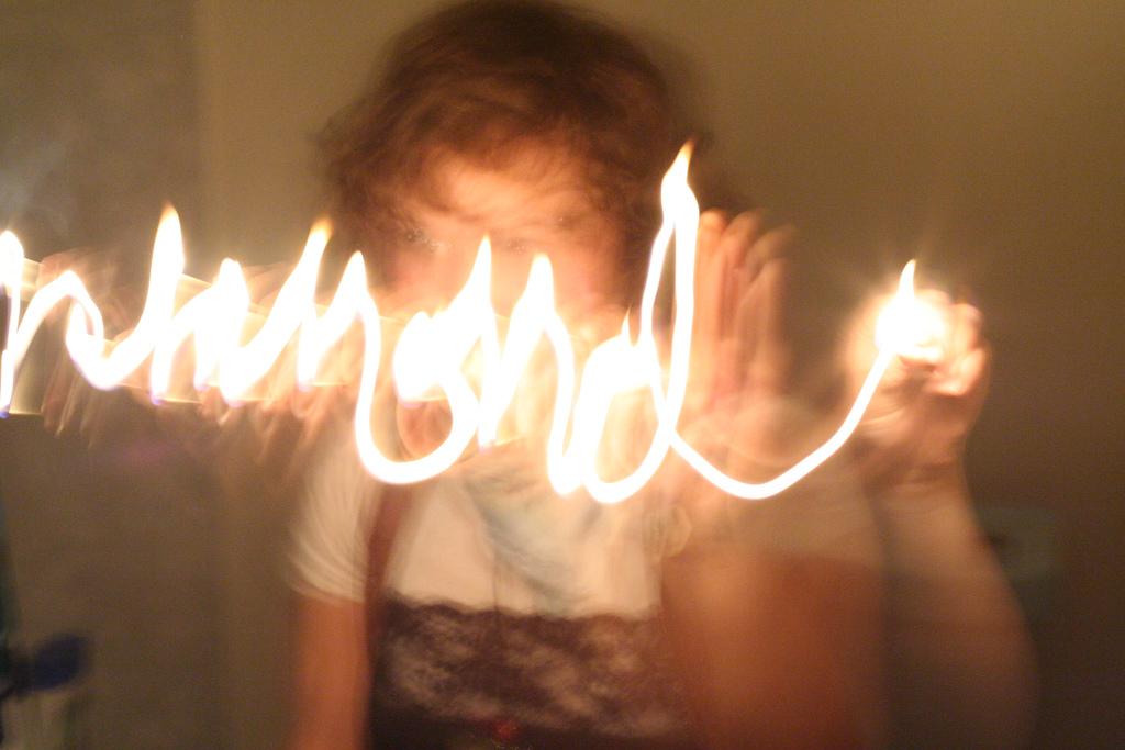 Light writing (via    Flickr   )