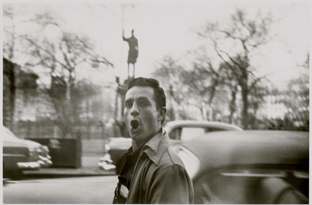 Jack Kerouac in New York City by Allen Ginsberg, 1953 (via    Blake Gopnik on Art   )