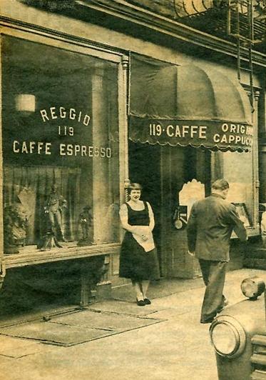 Caffe Reggio, 1961 (via    Caffe Reggio   )