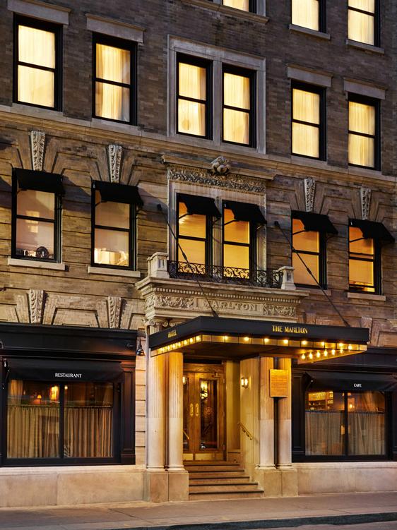 The Marlton Hotel (via  The Marlton Hotel )
