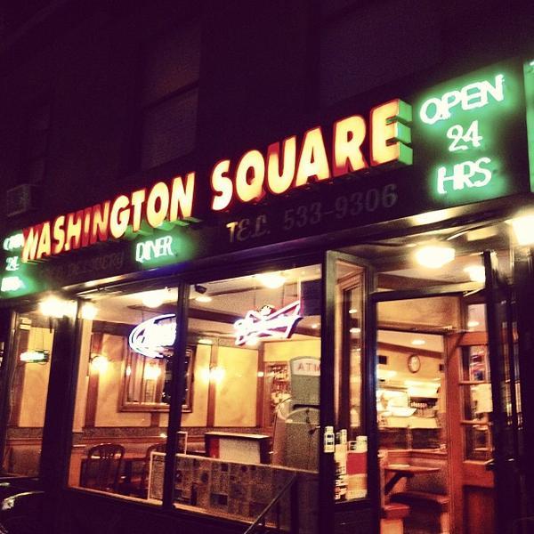 Washington Square Diner (via    Foursquare   )