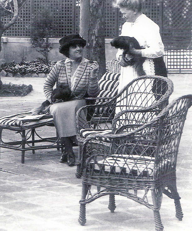 Edith Wharton and Catherine Gross, Saint-Claire du Chateau (via    Style Court   )