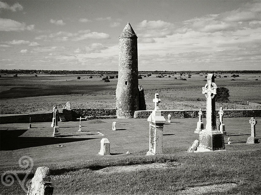 The Round Tower, Clonmacnoise