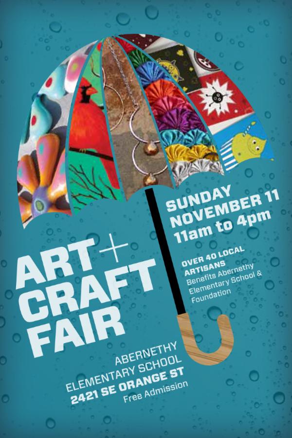 Abernethy Art and Craft Fair Poastcard