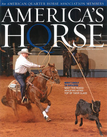 Sid Miller & Big Smokin Wonder: Cover of America's Horse 2009