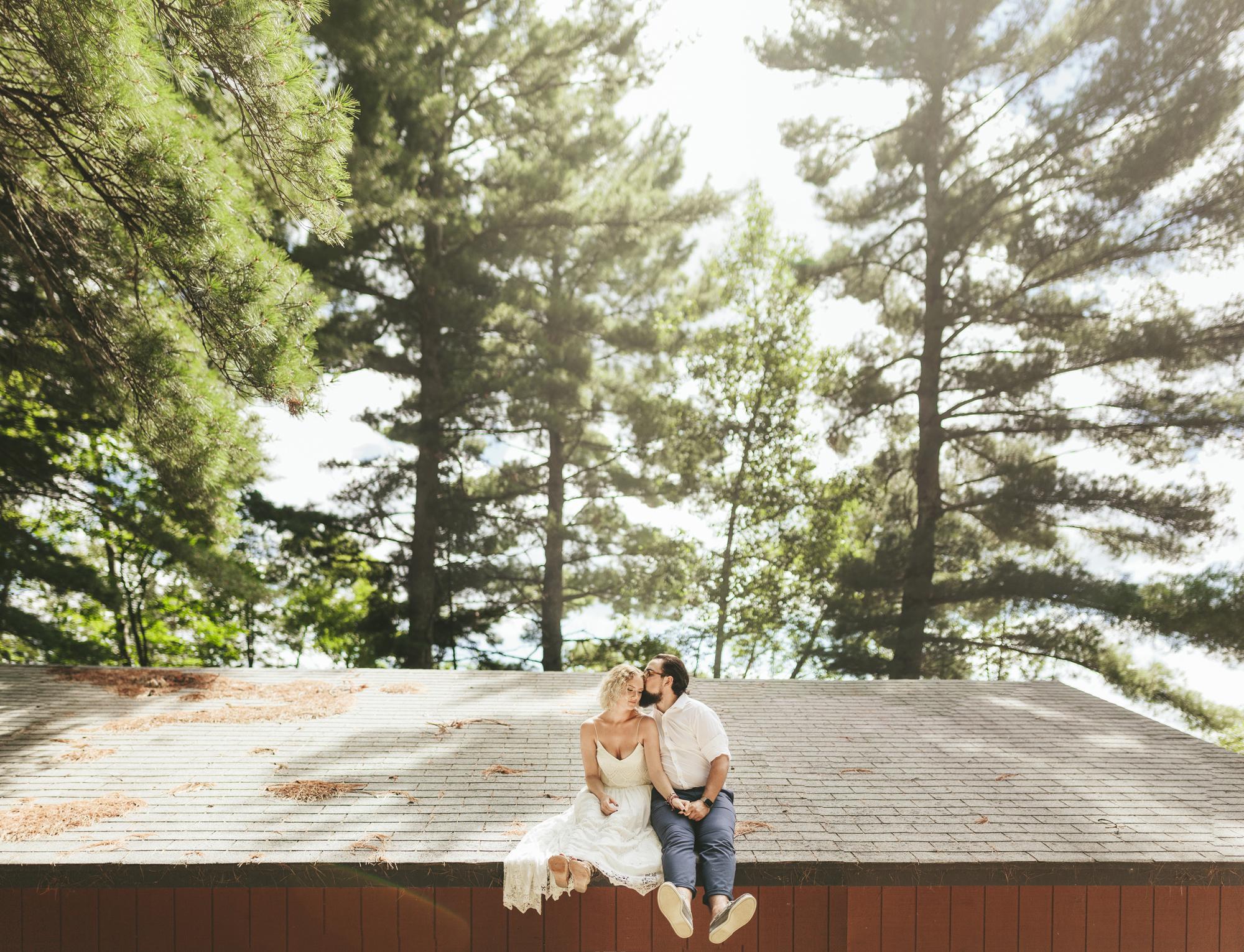 Brandon werth minnesota wedding photographer cabin outdoor