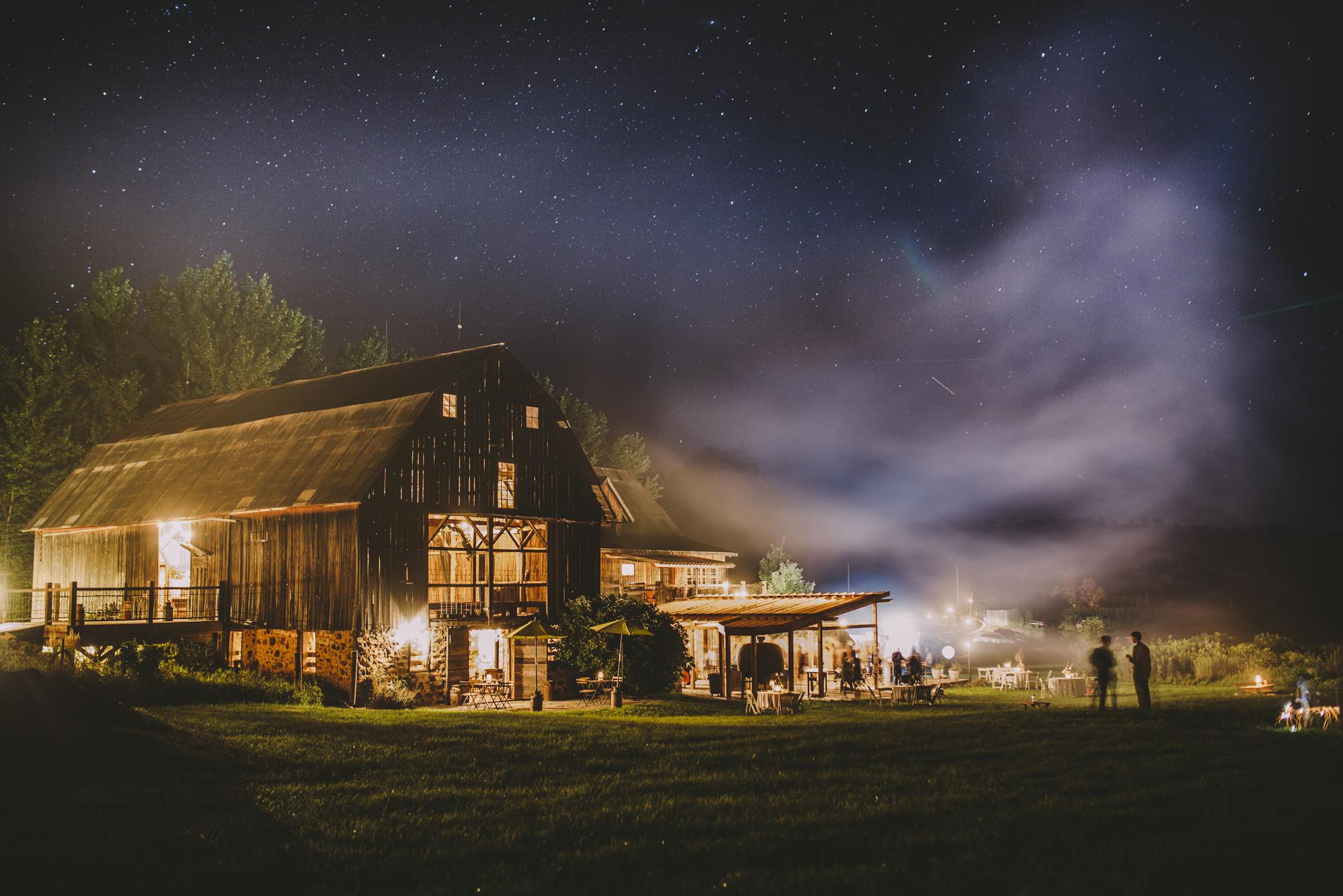 enchanted barn Brandon werth wisconsin wedding photographer outdoor reception