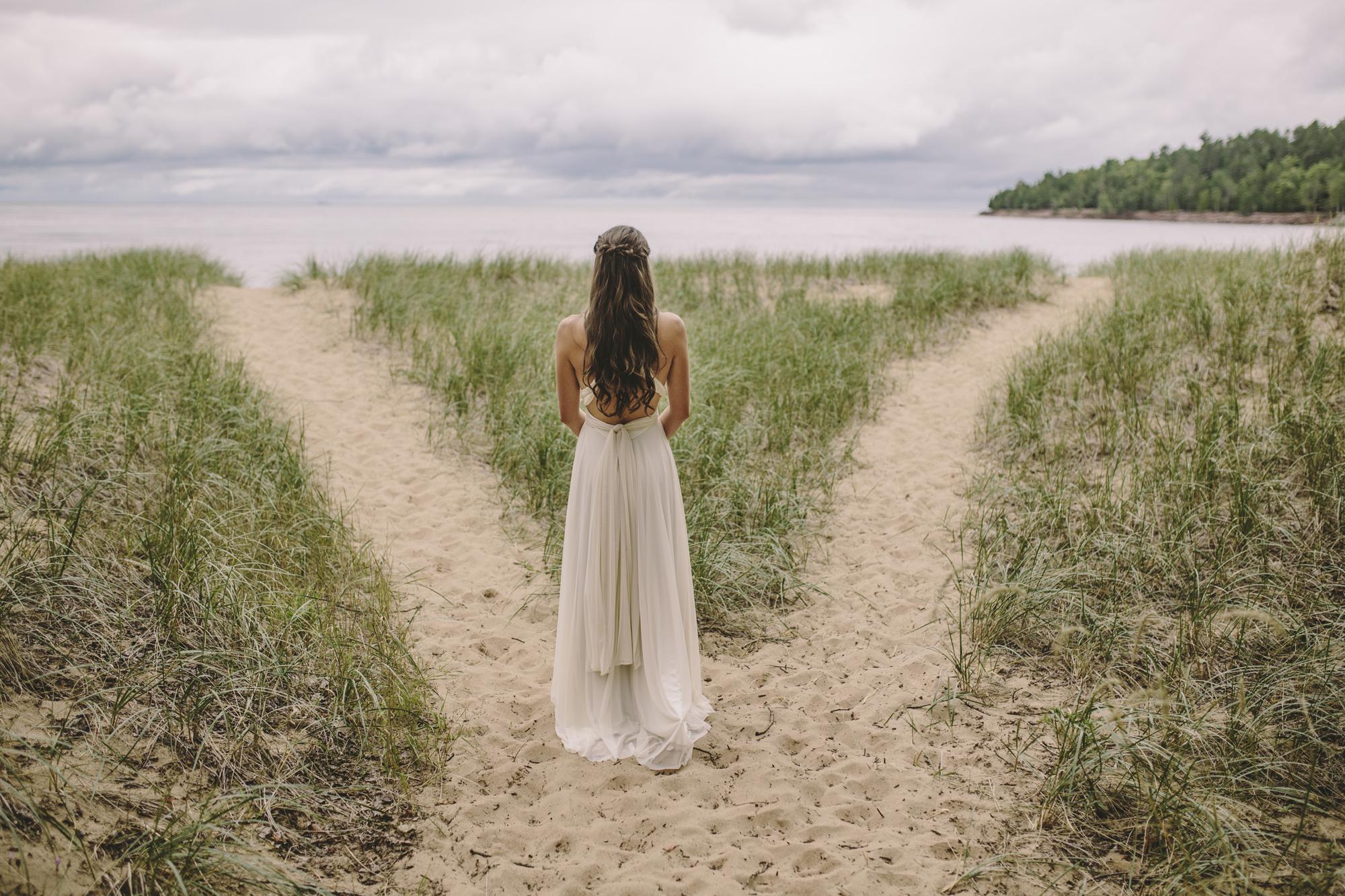 Brandon werth minnesota wedding photographer marquette michigan bride lake superior
