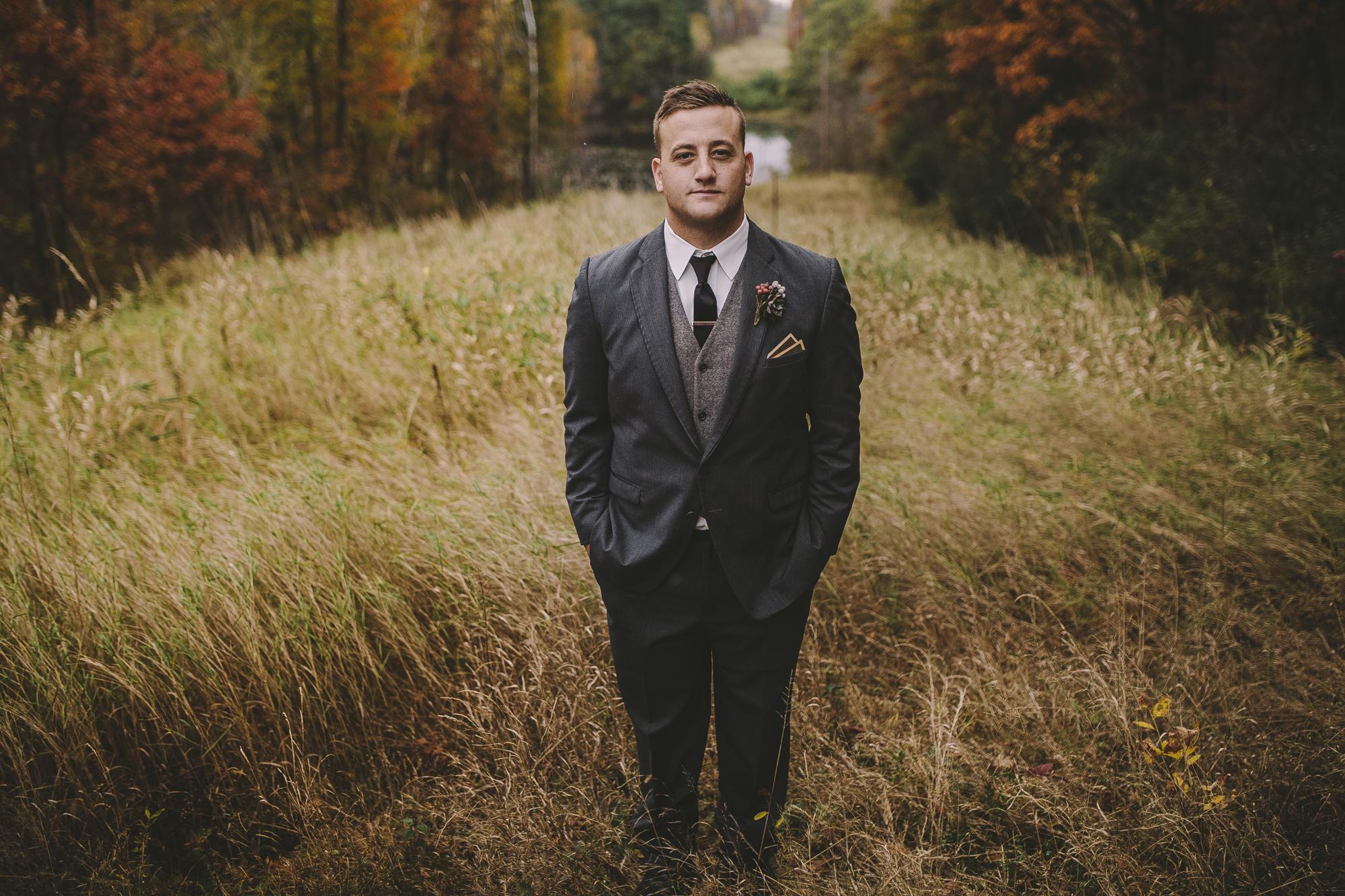 Brandon werth minnesota wedding photographer camp butwin groom