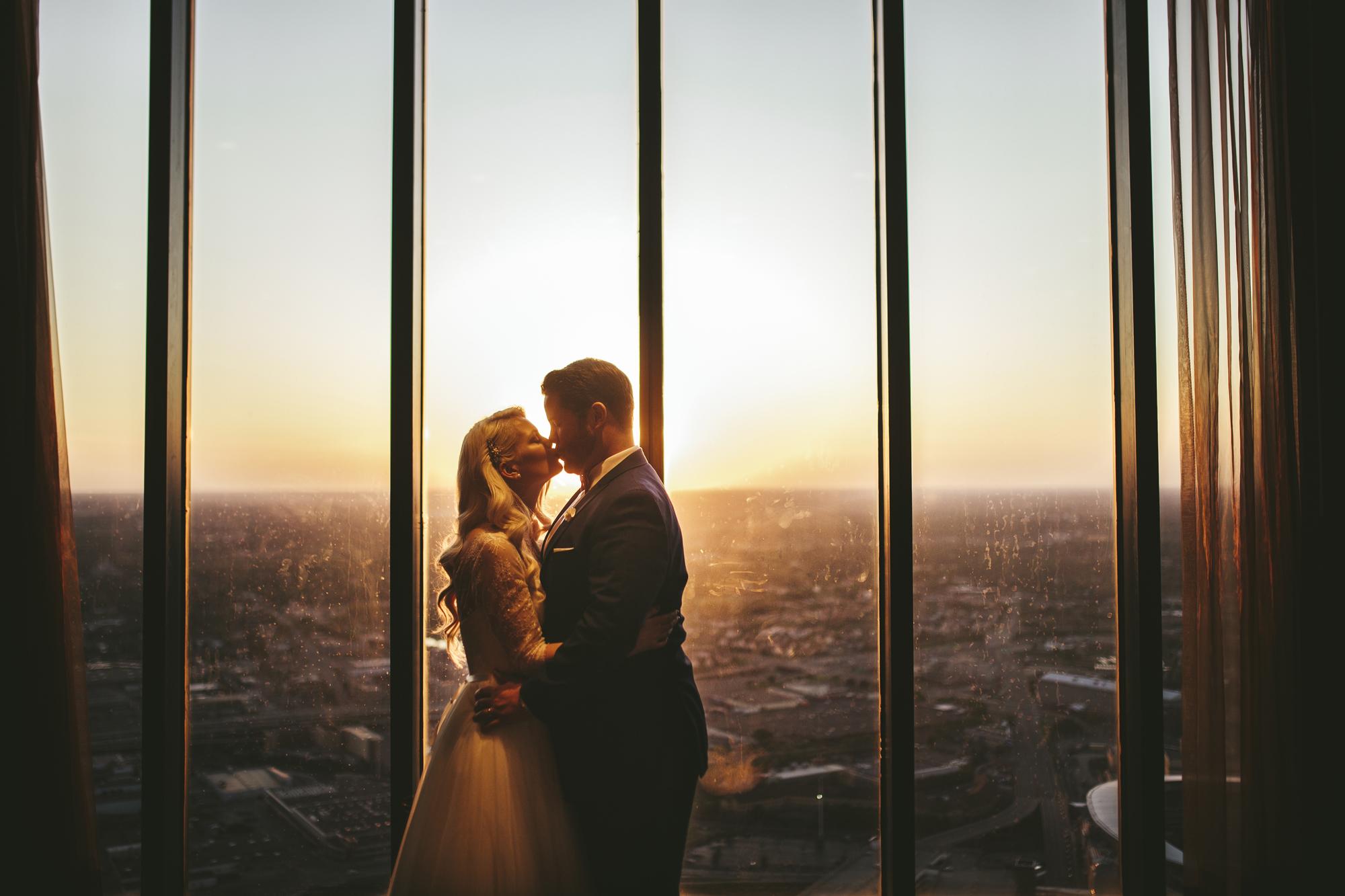 Brandon werth minnesota wedding photographer minneapolis urban windows