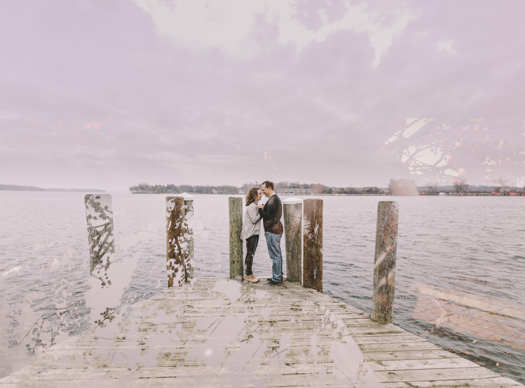 Brandon werth minnesota wedding photographer excelsior engagement session