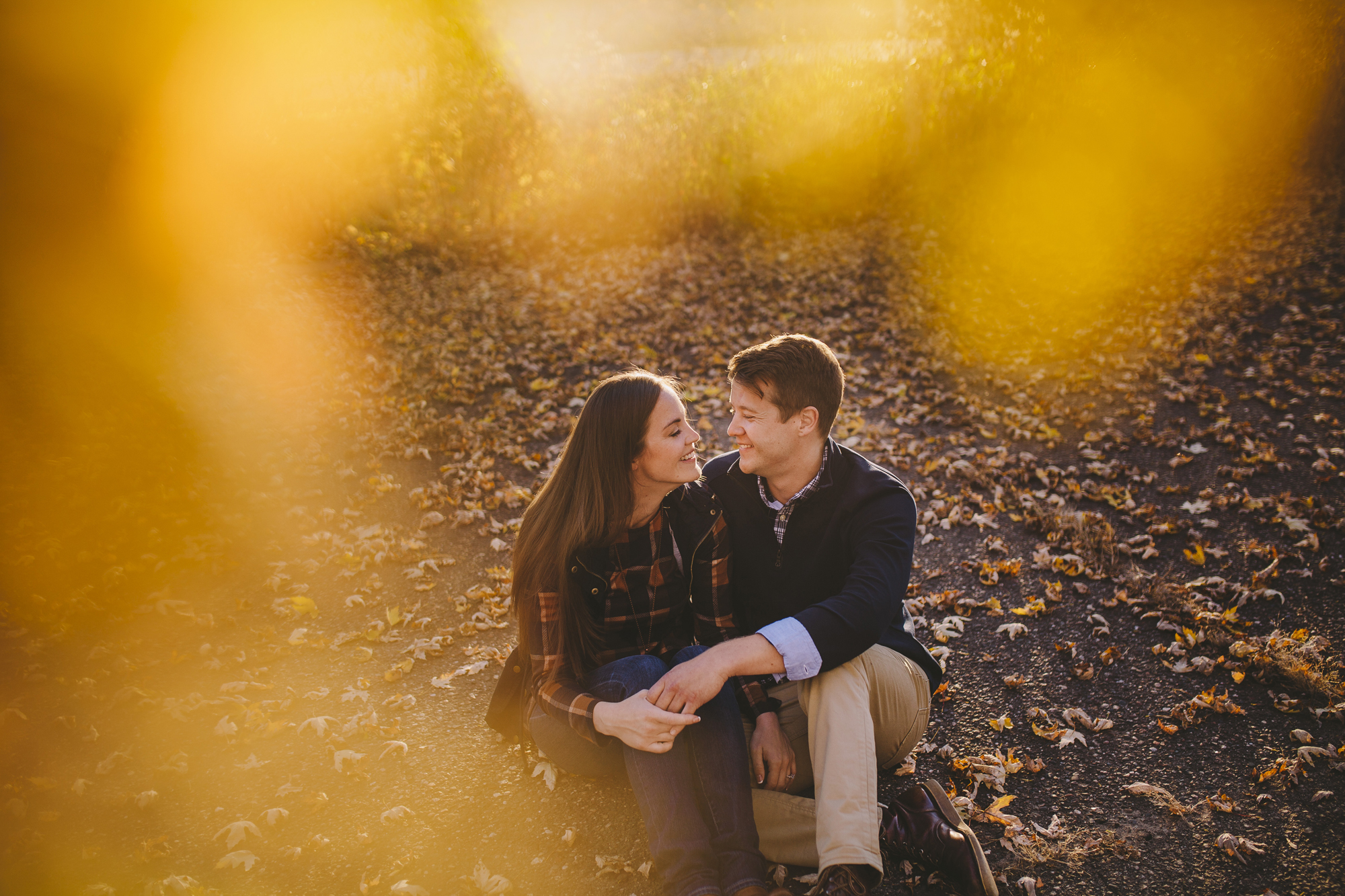 Brandon werth minnesota wedding photographer fort snelling state park engagement session