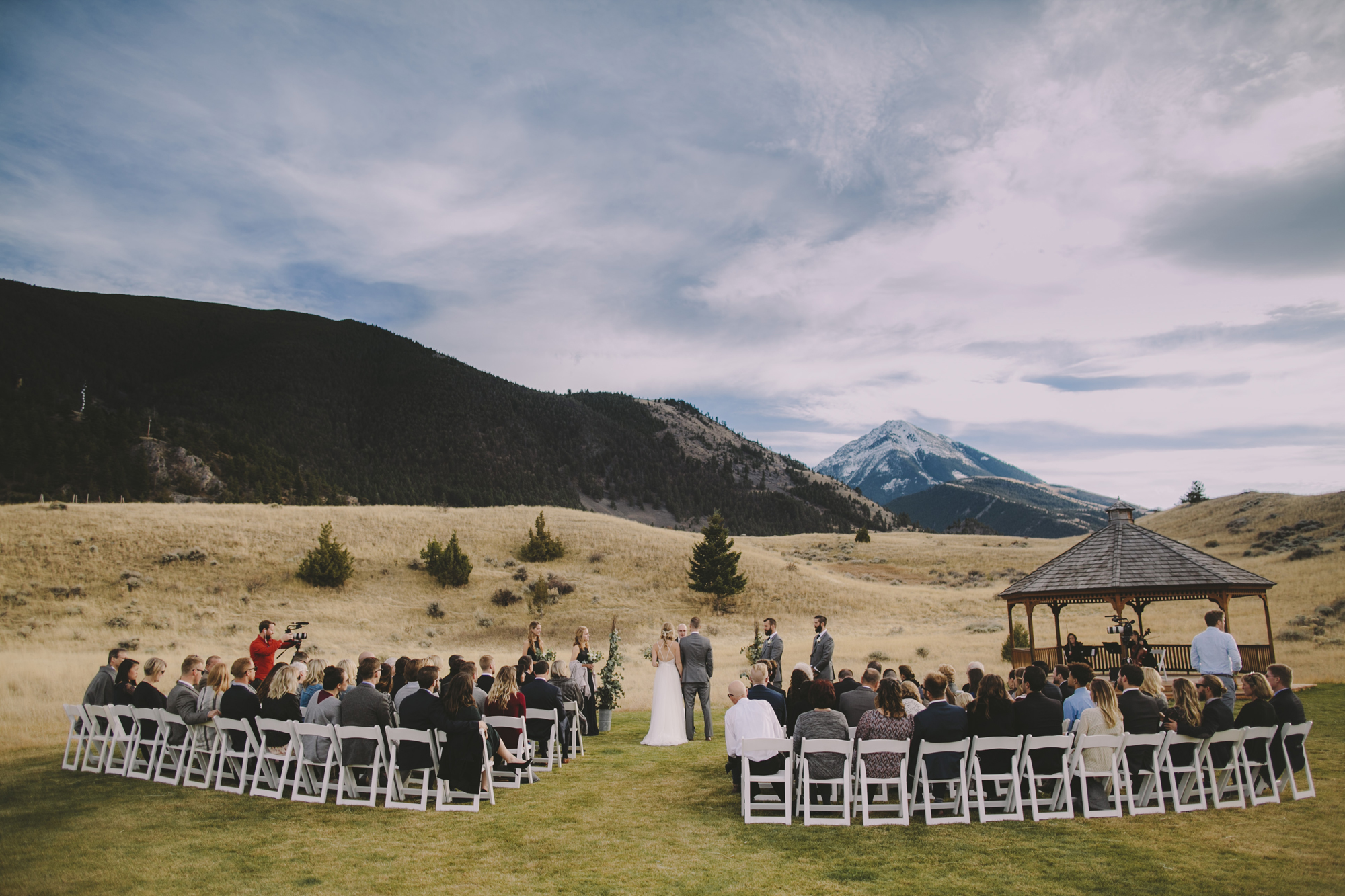 chico hot springs wedding montana brandon werth photography