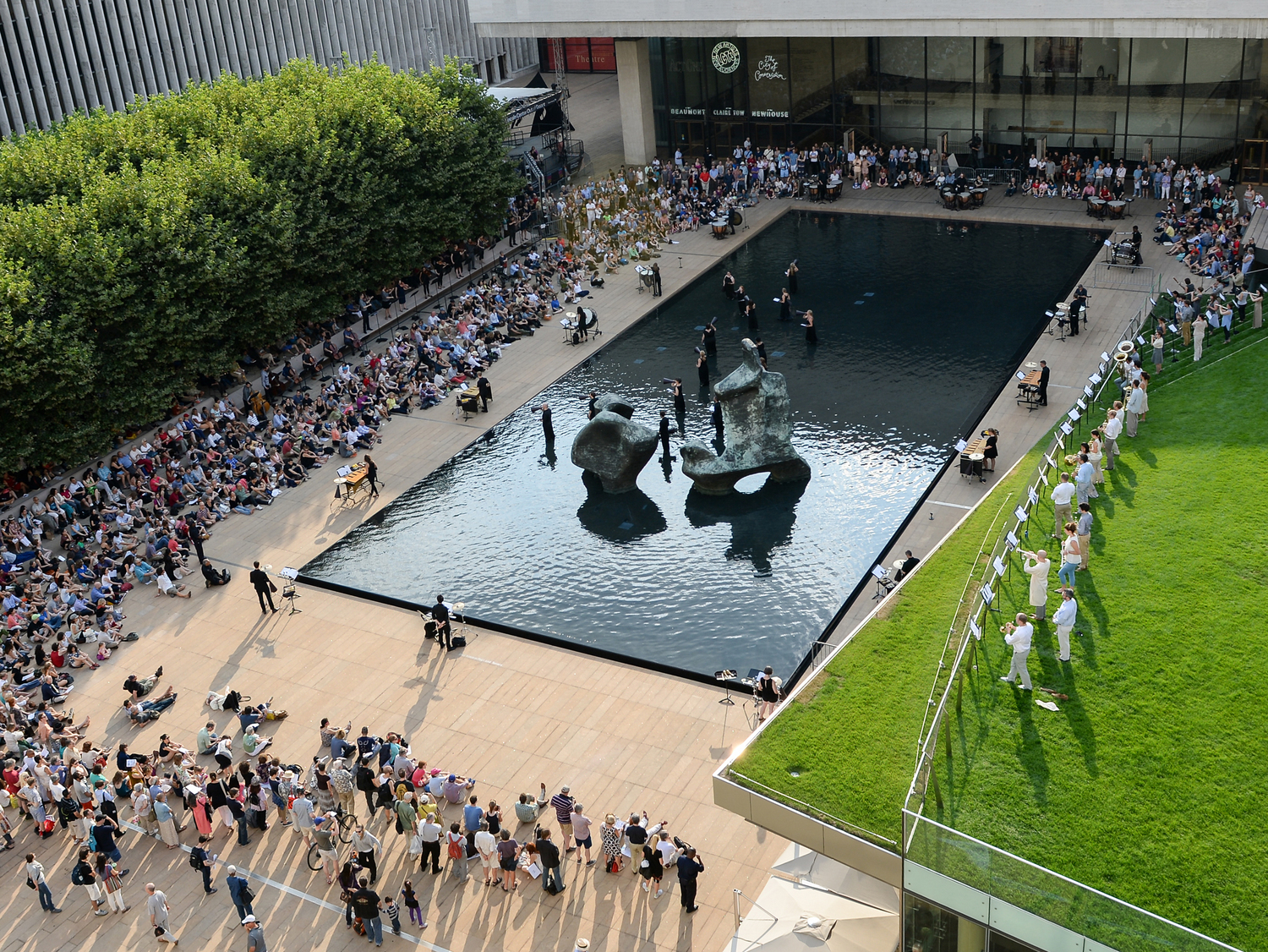 Lincoln Center Outdoor Performance of Sila
