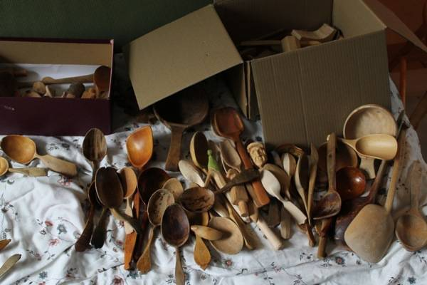 Ramon's spoon collection