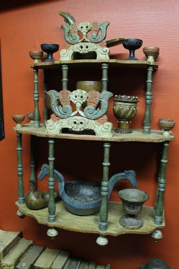 beautiful shelves with beautiful stuff