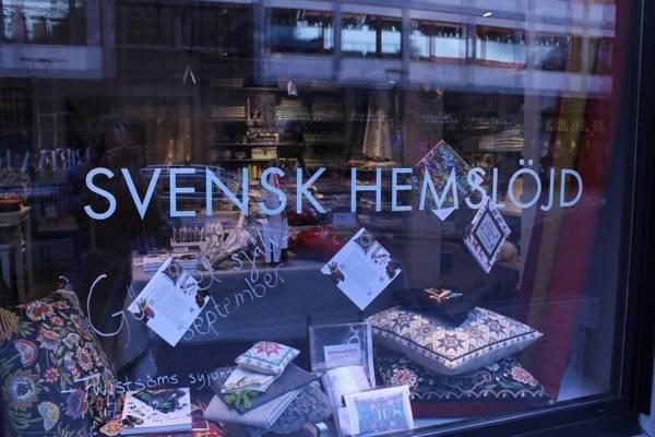 craft or slöjd shop in Stockholm