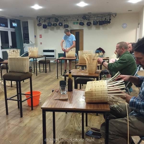 April's ash weaving workshop