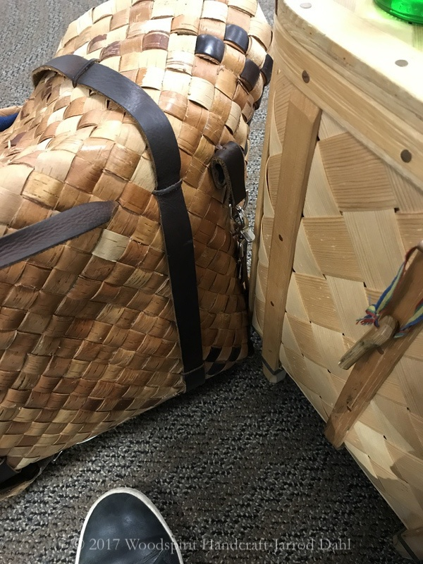 Always travel with baskets if you can. This is the new wood culture in real life in the public eye.