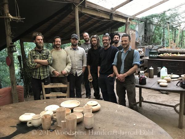 From Left Owen Thomas, Sharif Adams, Myself, Will St Claire, Dave the sailor, Paul, Yoav Kafets, Matty Whittiker