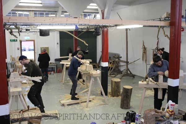 The workshop in Göteborg