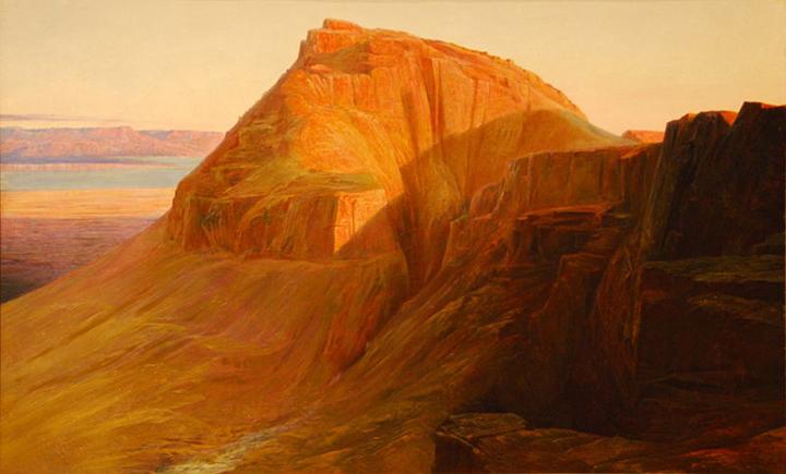 Masada 1858, Edward Lear