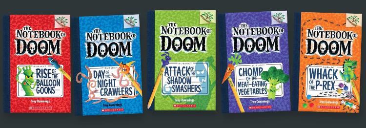The Notebook of DOOM! — Troy Cummings Studio