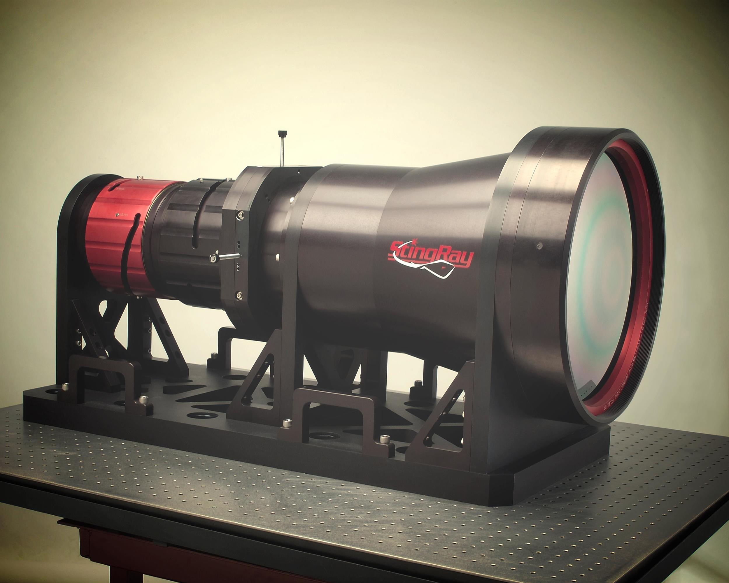 404mm custom lwir collimator.