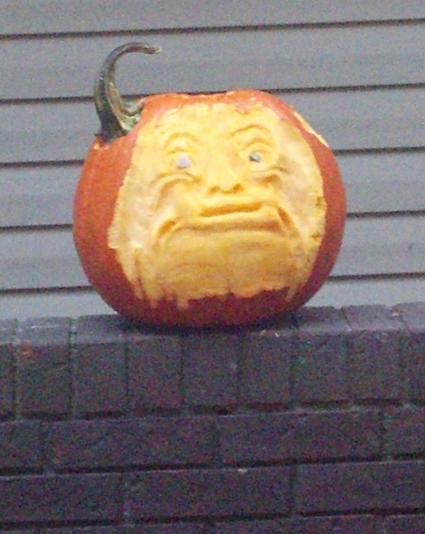 Sad Ogre with stolen horn.