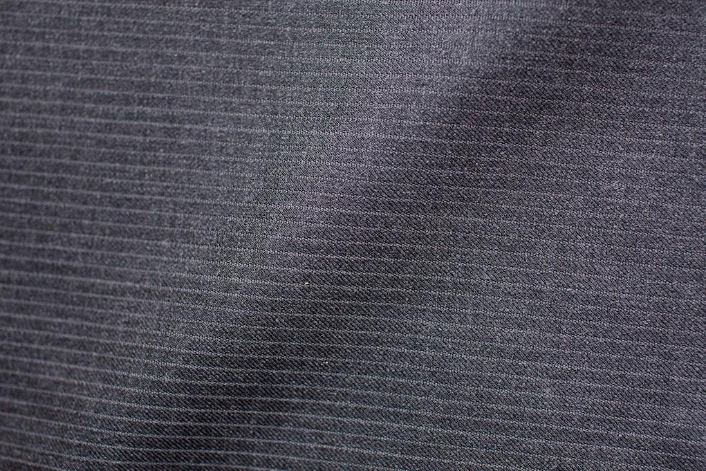 Dark Grey Narrow Pinstripe