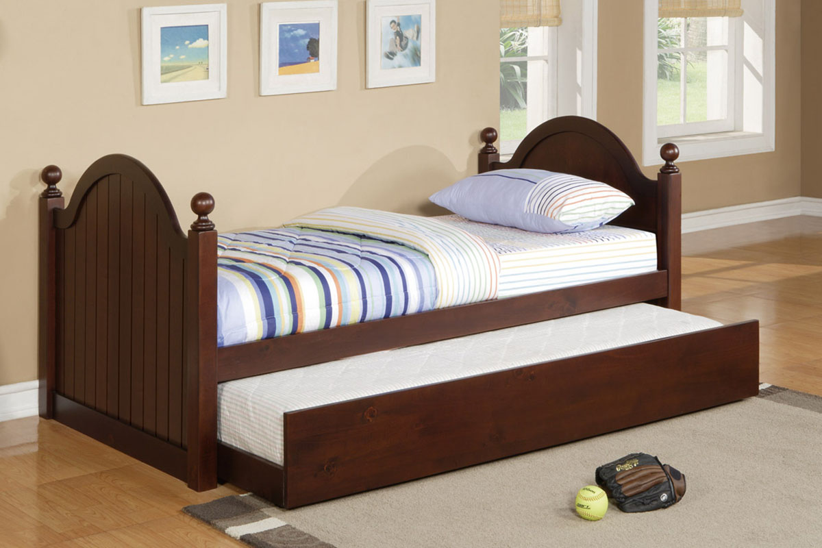 PX9056 Twin Bed w/ Trundle