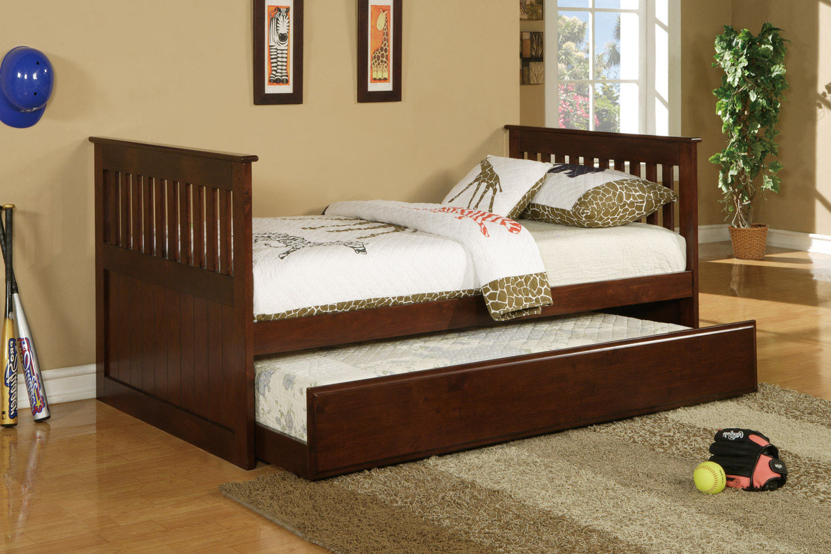 PX9052 Twin Bed w/ Trundle