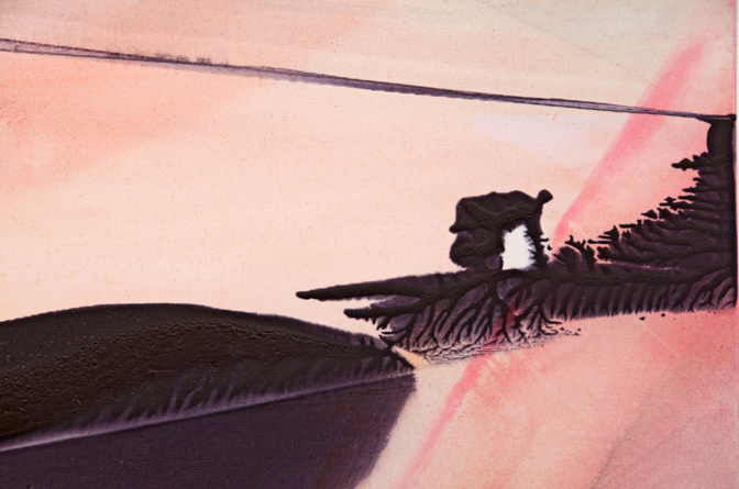 "Claire Anna Baker ""Continuous Ends"" (Detail)"