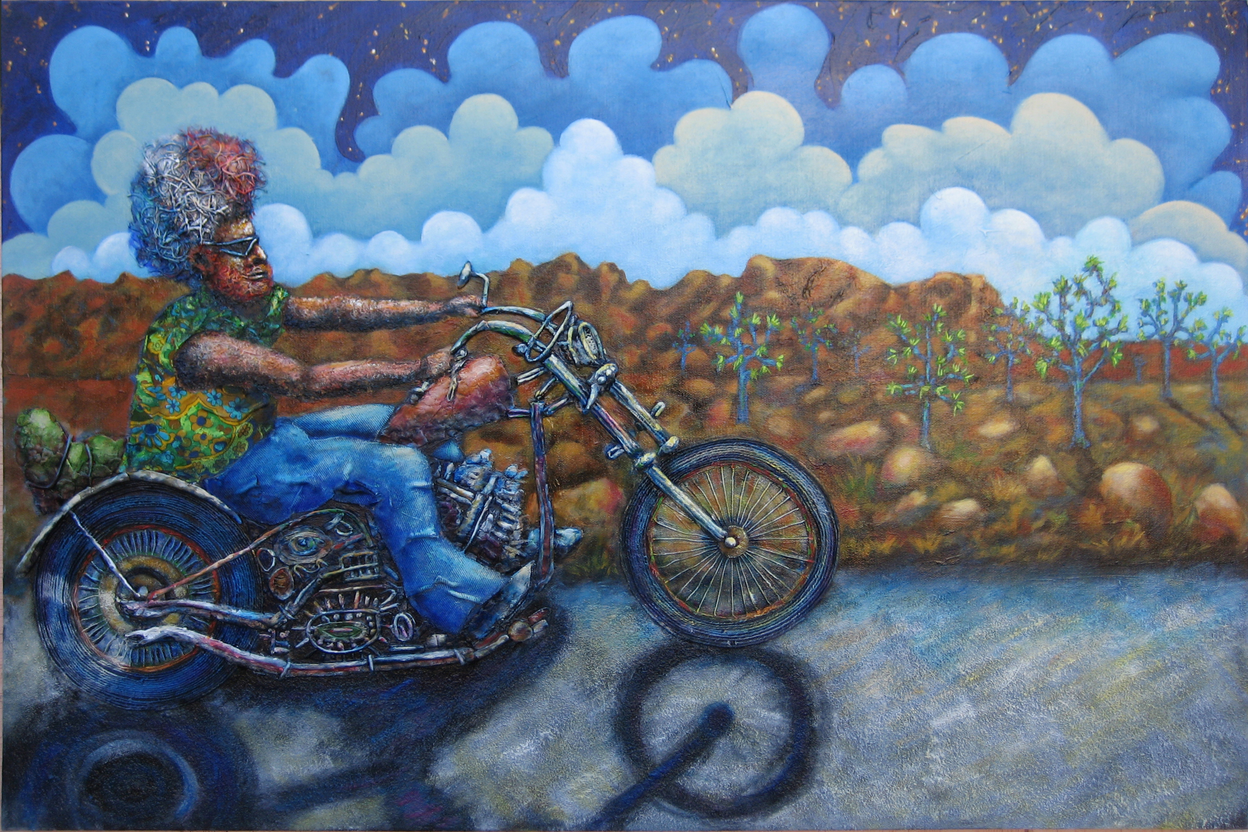 Ride Through Joshua Tree   Rick Cummings