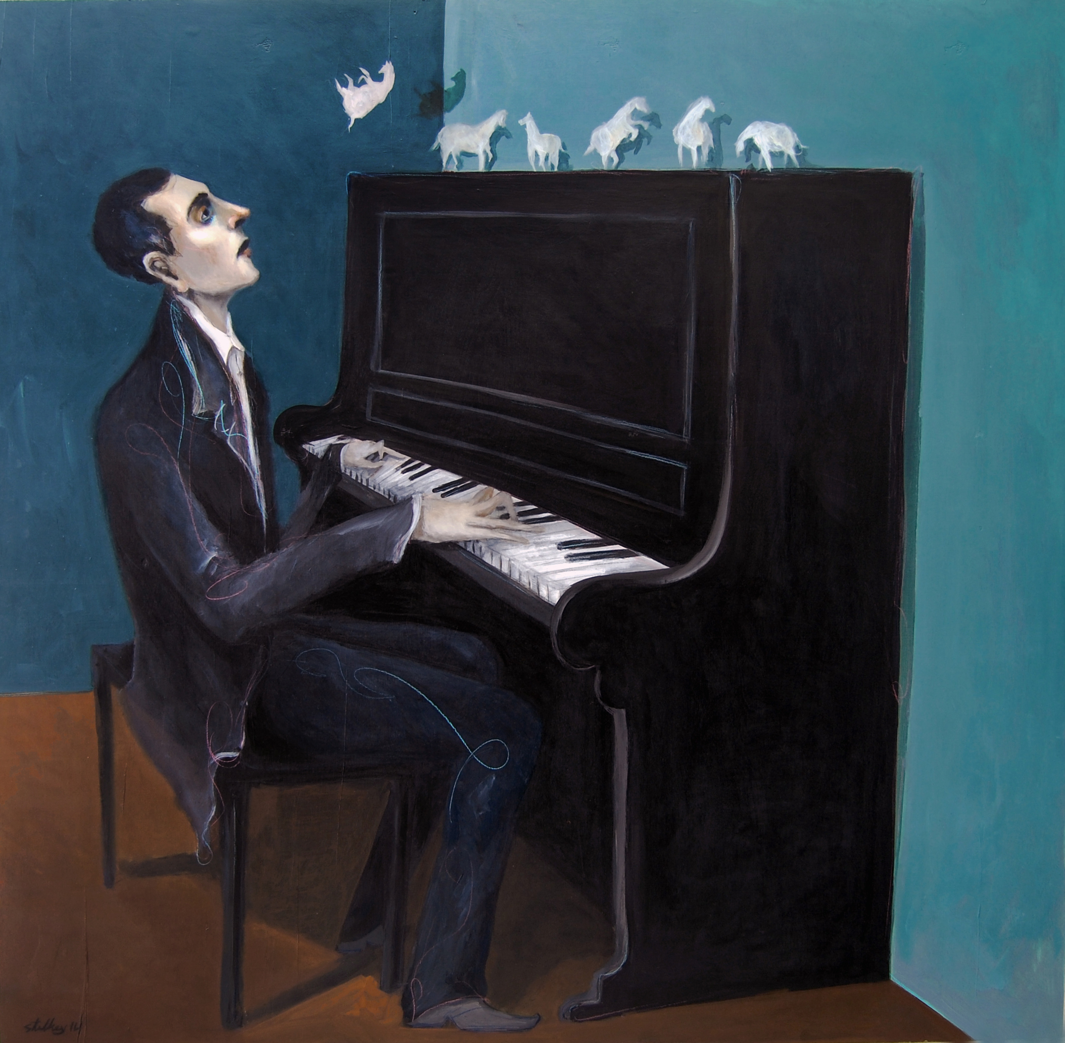 Playing The Horse Off The Piano | Mike Stilkey