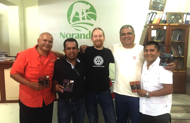 Norandino cooperative representatives.