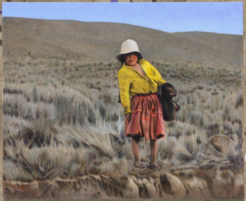 Andean Shepherdess