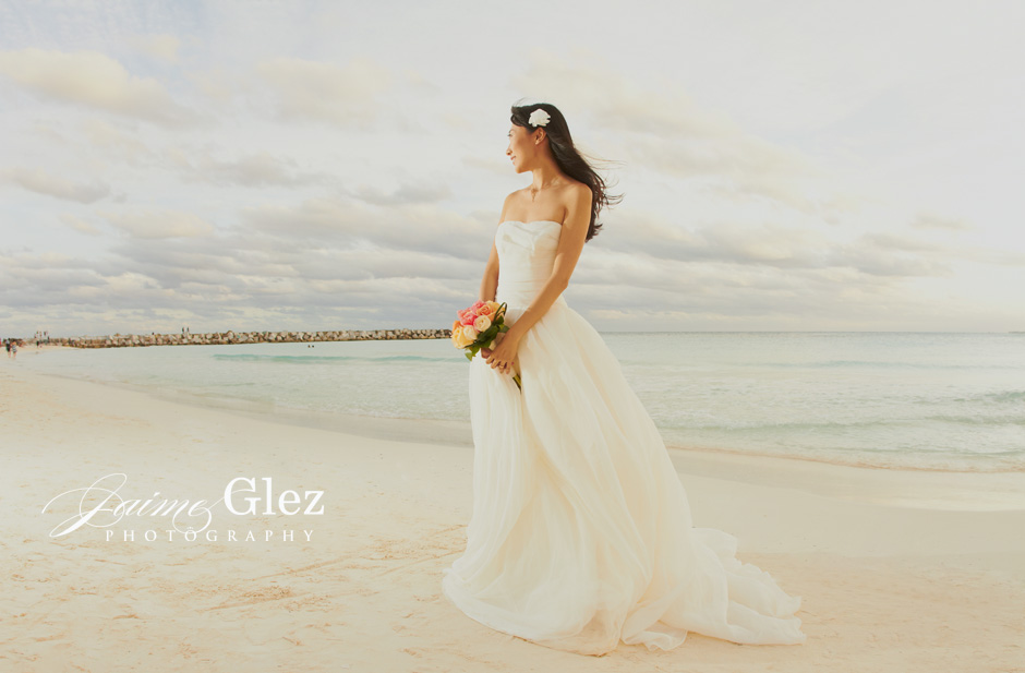 Such a natural and beautiful bride!