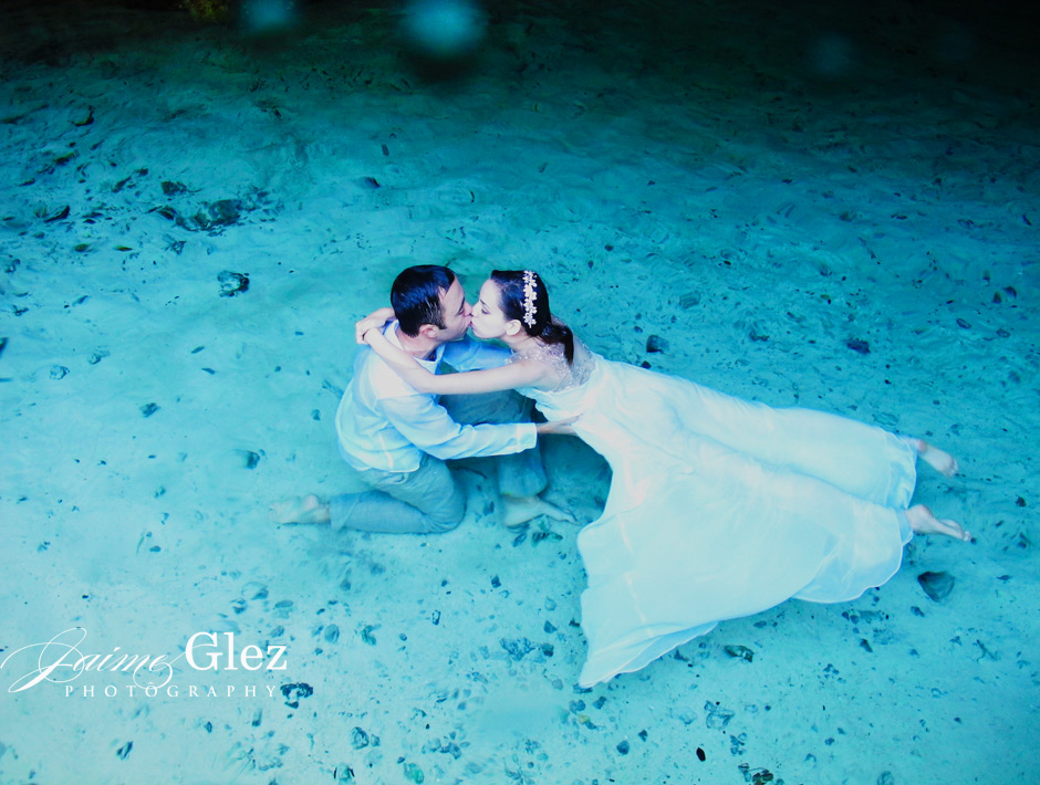 trash the dress cenote tulum 5