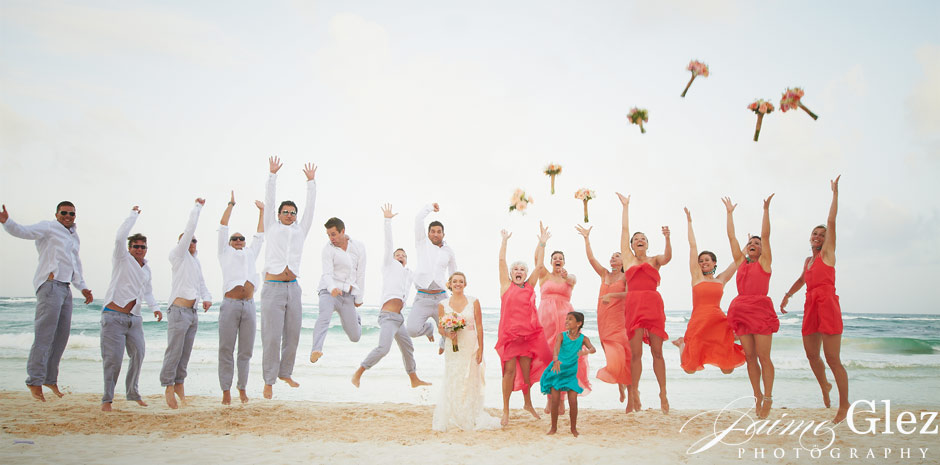 Capturing the soul and joy of bridesmaid and groomsmen! Uniquemoment of life!