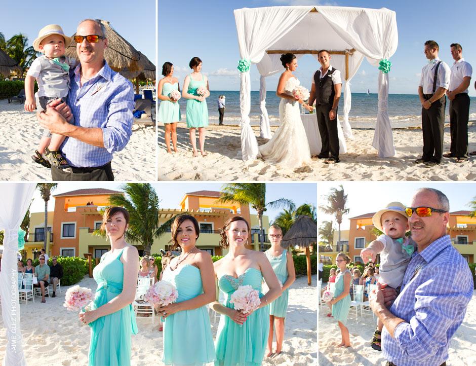 ocean coral and turquesa wedding 9