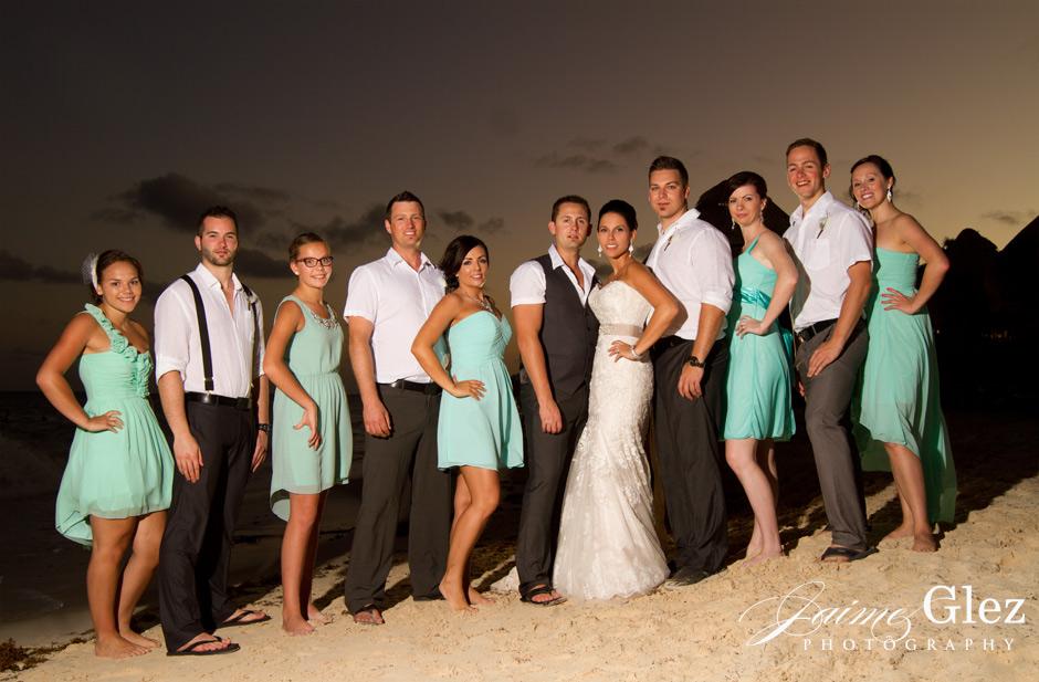 ocean coral and turquesa wedding 20