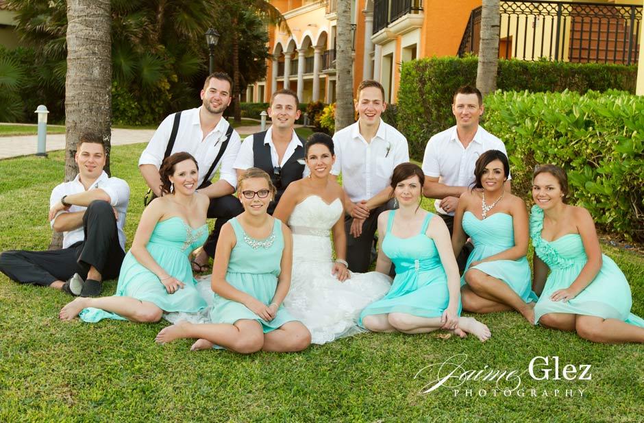 ocean coral and turquesa wedding 15