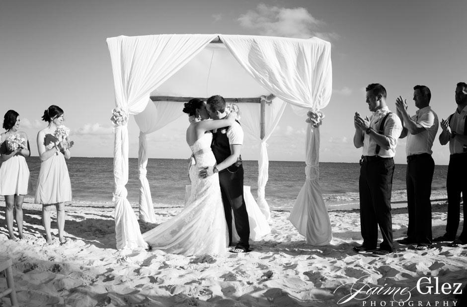 Finally married! Congratulations guys!
