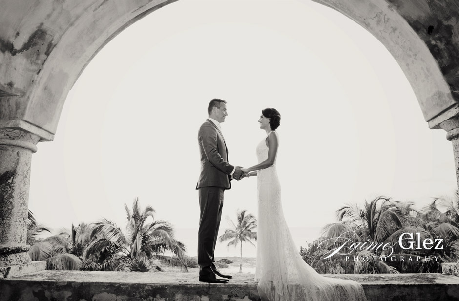 secrets maroma beach wedding 10