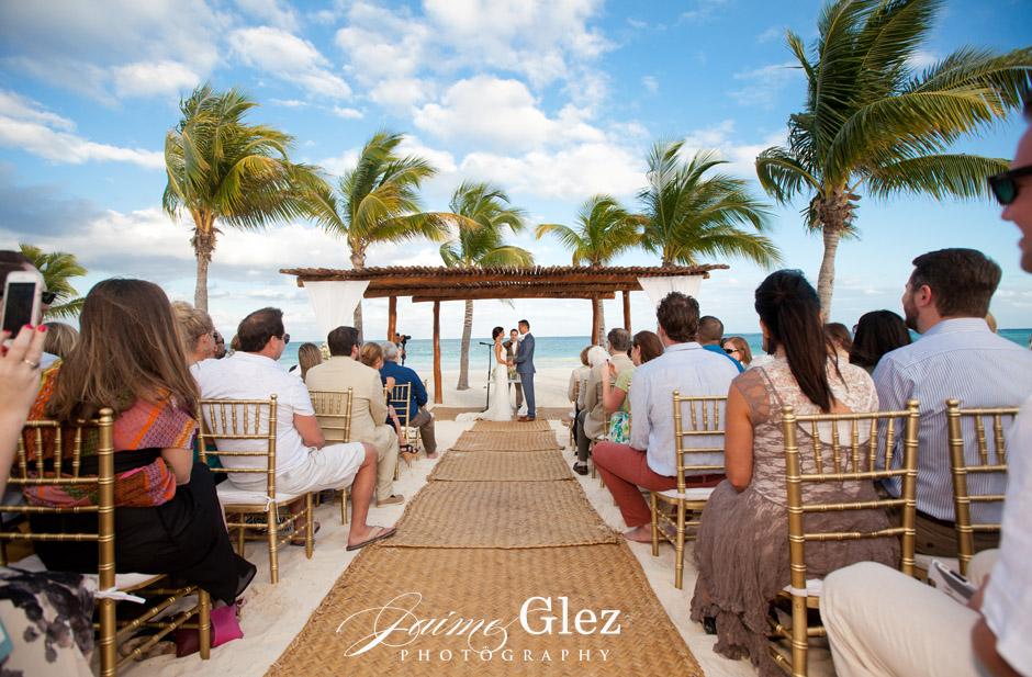 secrets maroma beach wedding 19