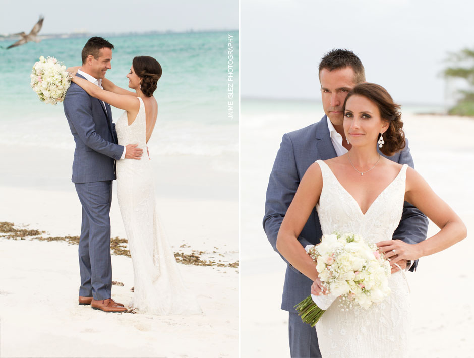 secrets maroma beach wedding 24